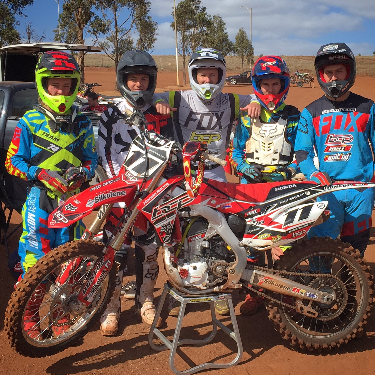 Trent collins makes his 2016 australian debut this weekend for Team honda purchase program